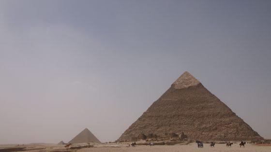 幼い頃憧れた「ピラミッド」