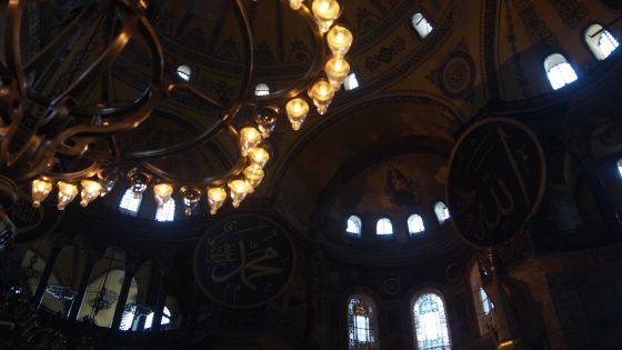 ブルーモスク。装飾も独特で綺麗。